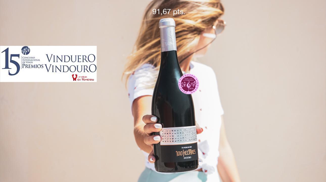 (Português) 100 Hectares Superior 2017 é um dos favoritos do Júri Feminino | Premios VinDuero-VinDouro