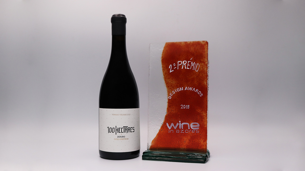 100 Hectares estreia-se no wine in Azores com 2º lugar na categoria Design Awards